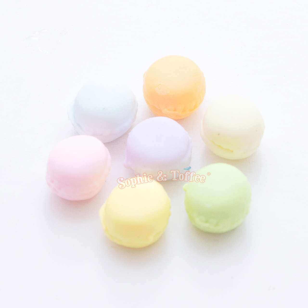 92923b40175fd Polymer Clay Macaron Miniature - 7 pieces