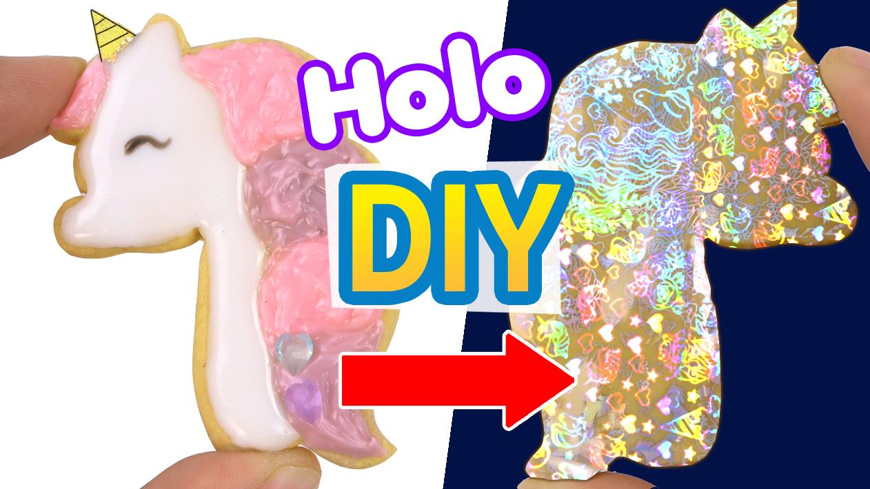 Unicorn Icing Cookie Polymer Clay UV Resin Tutorial (December Elves Box)