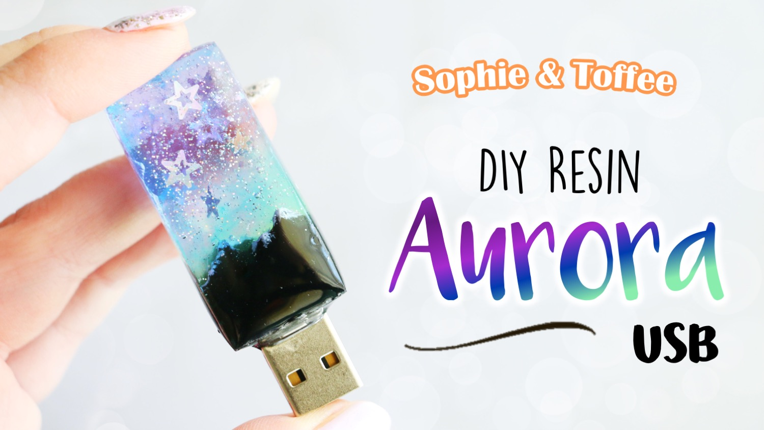 Sophie & Toffee | The Elves Box Subscription | UV Resin