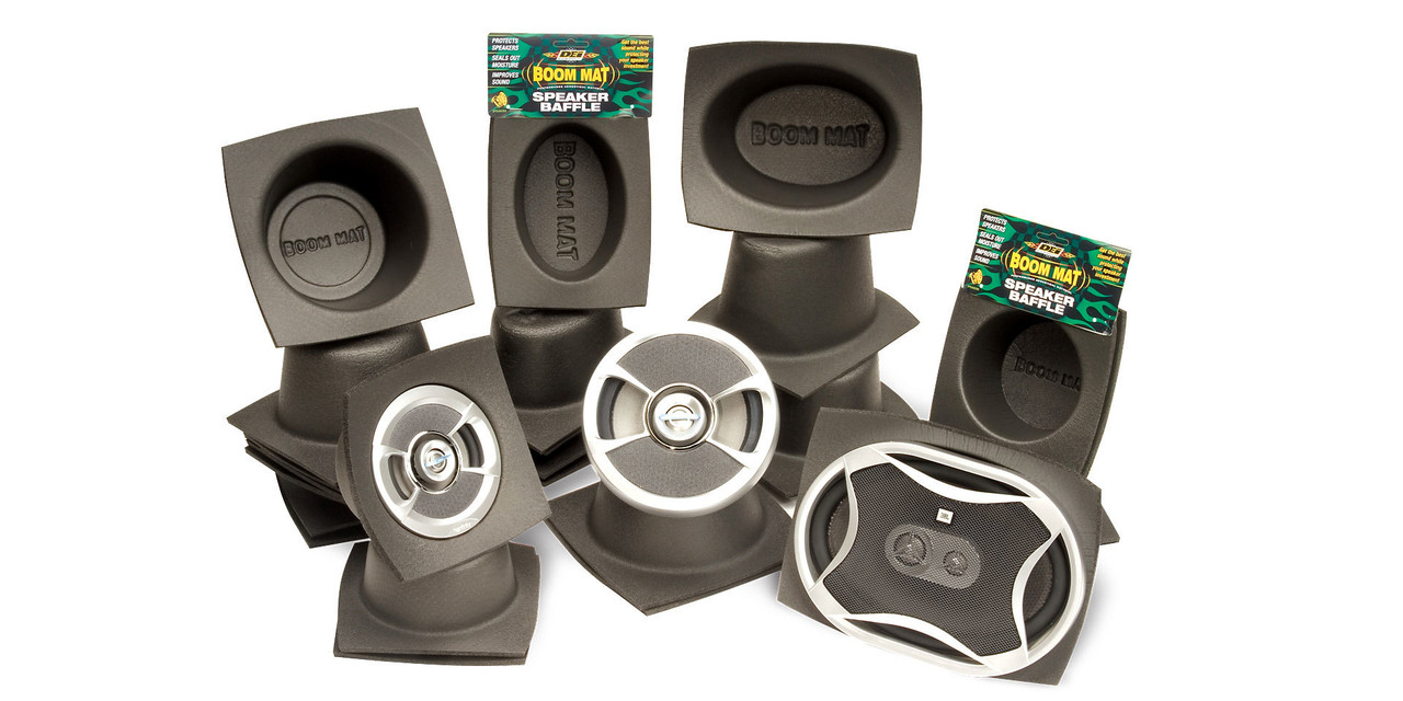 Boom Mat Speaker Baffles Design Engineering Inc