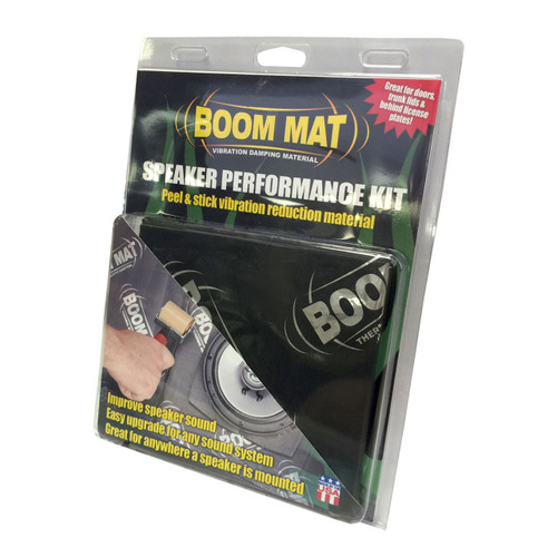 "Design Engineering DEI 6.5/"" Speaker Baffles Round 2 Pack Boom Mat"
