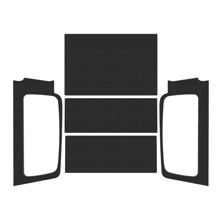 '04-'06 Wrangler LJ - Black Original Finish Complete Kit
