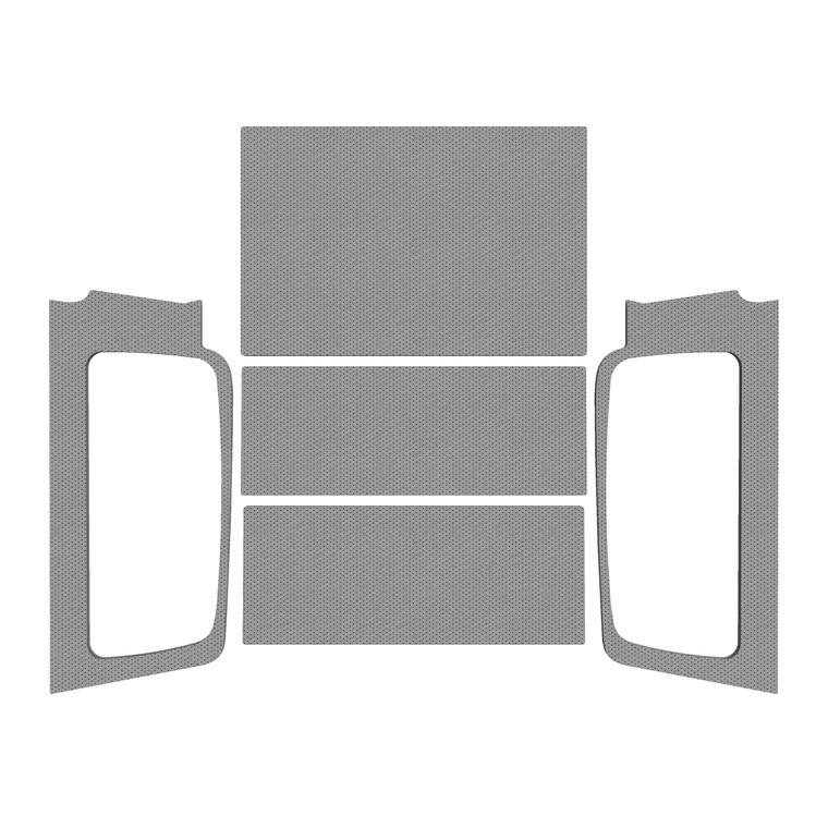 '04-'06 Wrangler LJ - Gray Leather Look Complete Kit