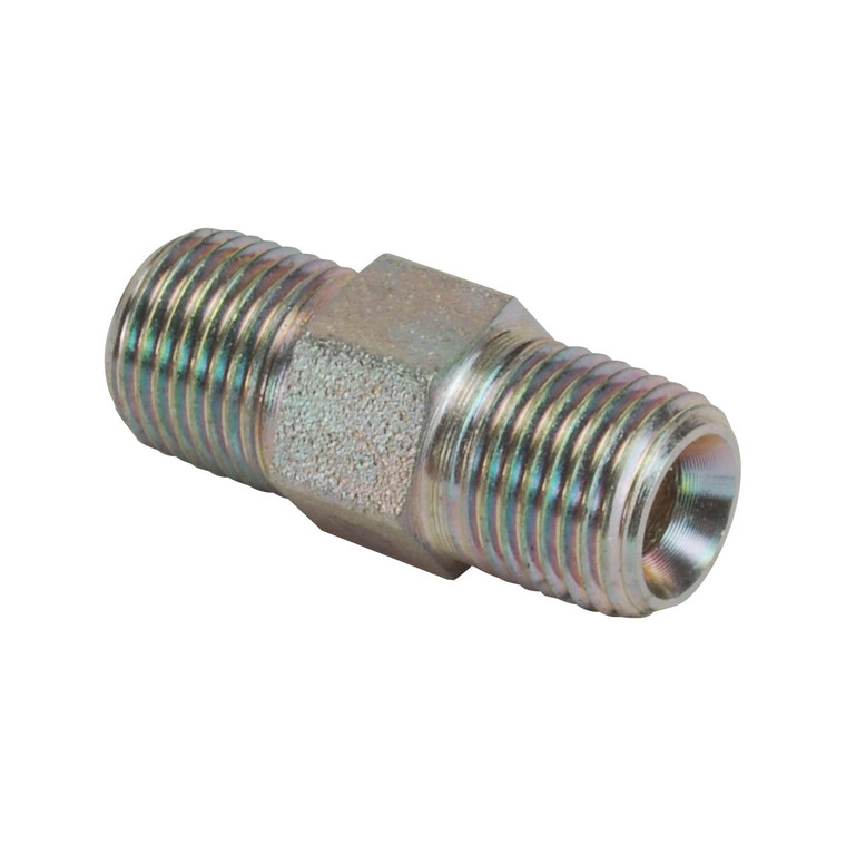 """080211 - Brass Connector Fitting - 1/8"""" NPT m"""