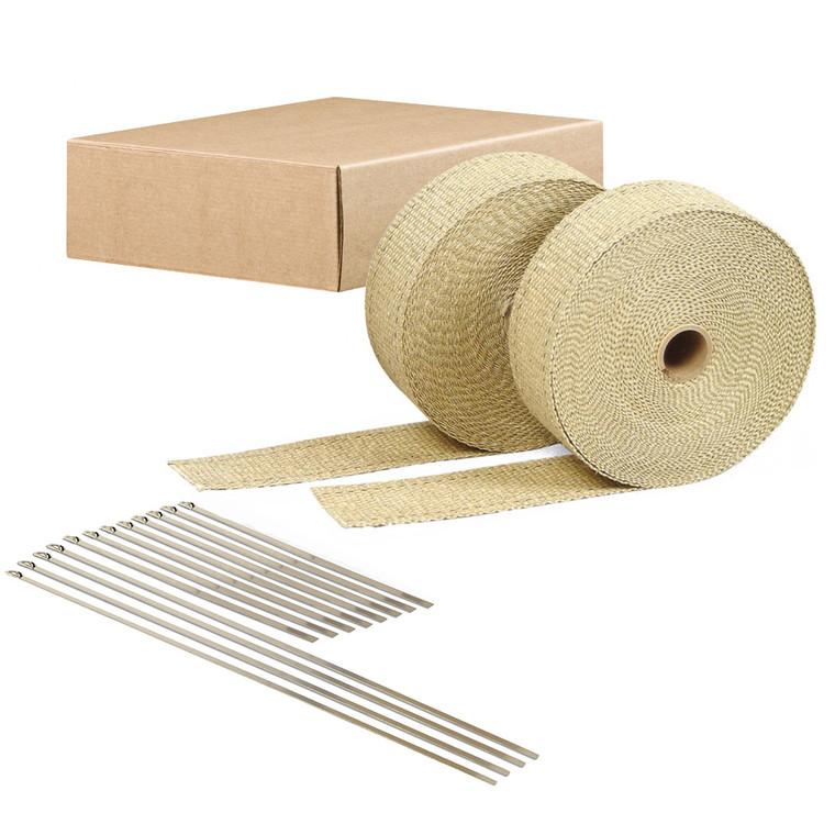 Tan Exhaust Wrap Kit