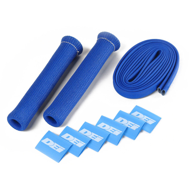 Protect-A-Boot™ and Wire Kit - Blue 2 Cylinder