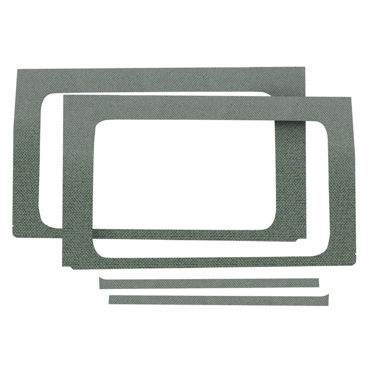 Wrangler JL 4-Door - Gray Original Finish Rear Side Window Only