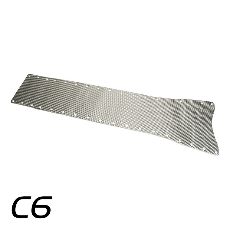 050526 - C6 Corvette Transmission Tunnel Plate Shield Only