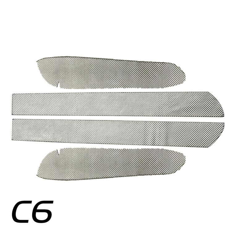 050531 - C6 Corvette Transmission Tunnel Side Shields Only