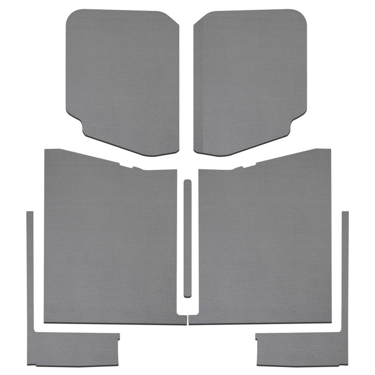 Gladiator - Gray Leather Look Complete Kit