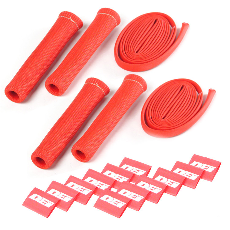 Protect-A-Boot™ and Wire Kit - Red 4 Cylinder