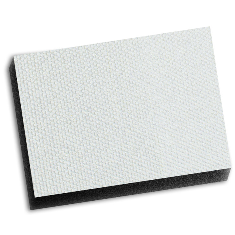 Boom Mat® Original Finish Headliner - White 1""