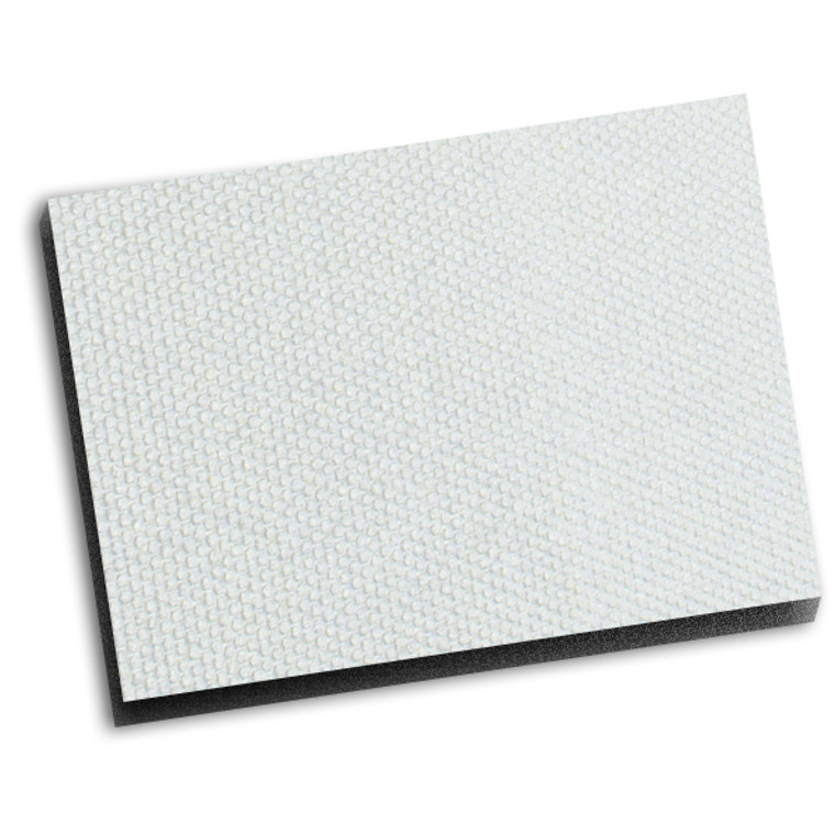 Boom Mat Original Finish Headliner - White 0.5""