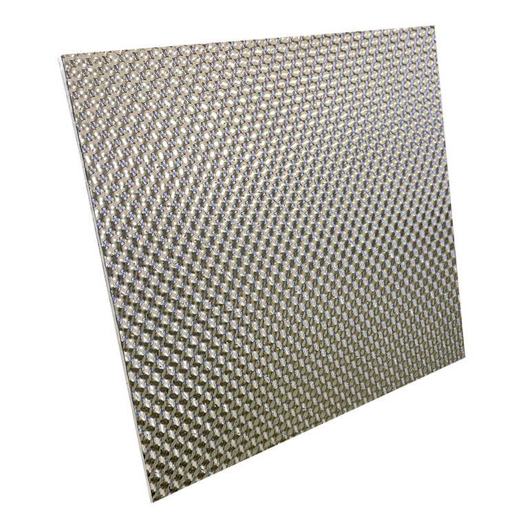 """Stainless Steel Acoustical Floor & Tunnel Shield - 22"""" x 19"""""""