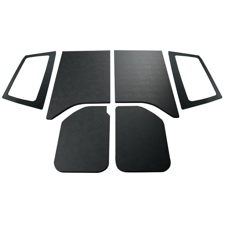 '11-'18 Wrangler JK 2-Door - Black Leather Look Complete Kit
