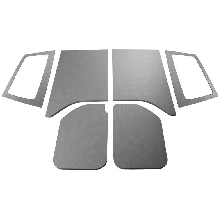 '11-'18 Wrangler JK 2-Door - Gray Leather Look Complete Kit