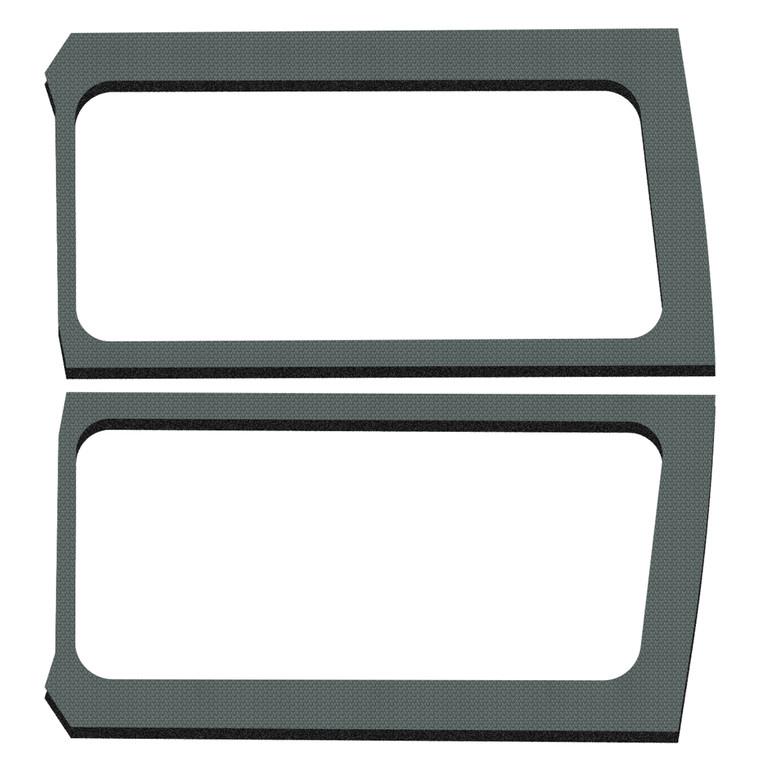 Wrangler JL 2-Door - Gray Original Finish Rear Side Window Only