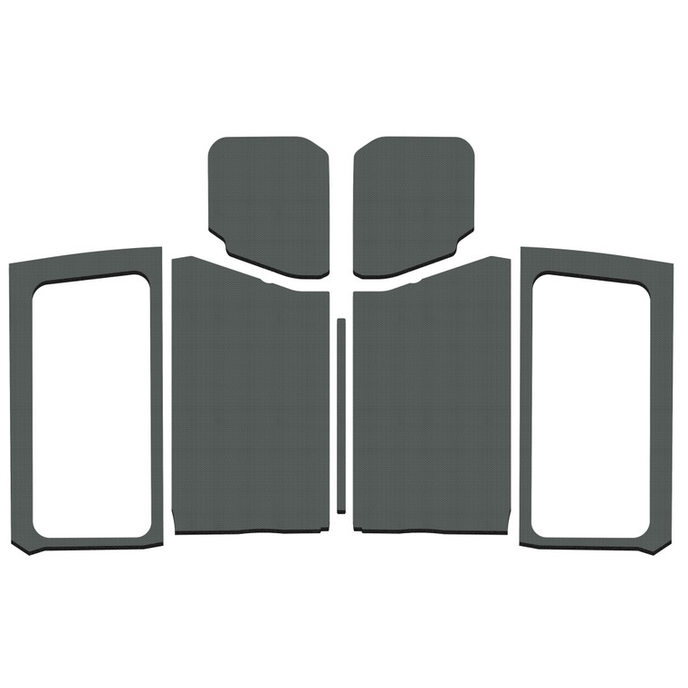 Wrangler JL 2-Door - Gray Original Finish Complete Kit