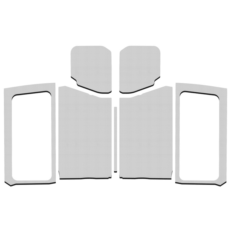 Wrangler JL 2-Door - White Original Finish Complete Kit