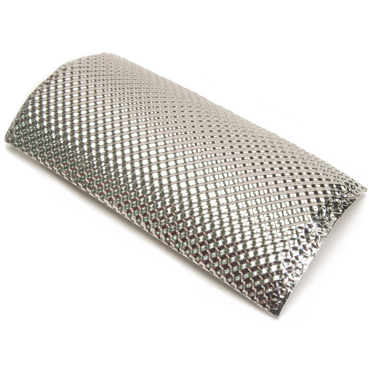 "Stainless Steel Pipe Shield - 4.5"" x 8.5"""