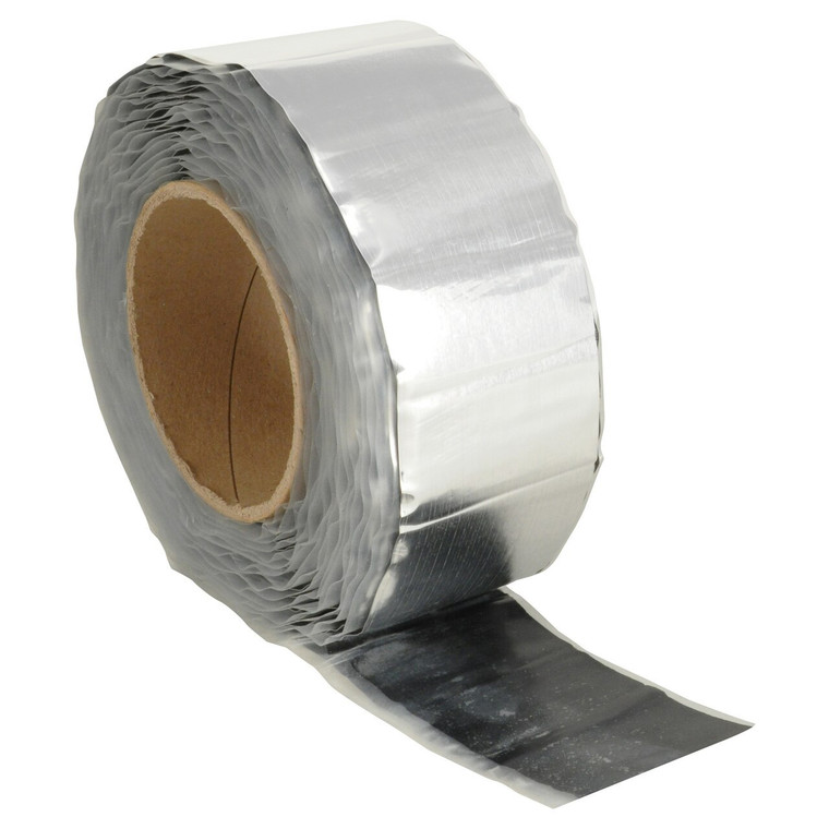 """Silver Damping Tape - 2mm - 1.5"""" x 20'"""