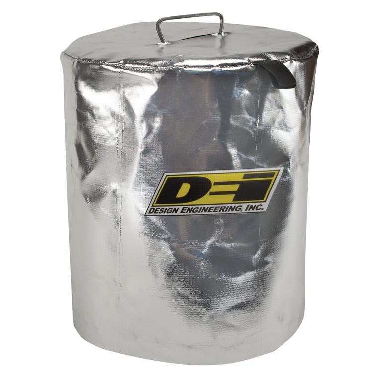 Reflective Fuel Can Cover - 5 Gallon Round Metal Fuel Can