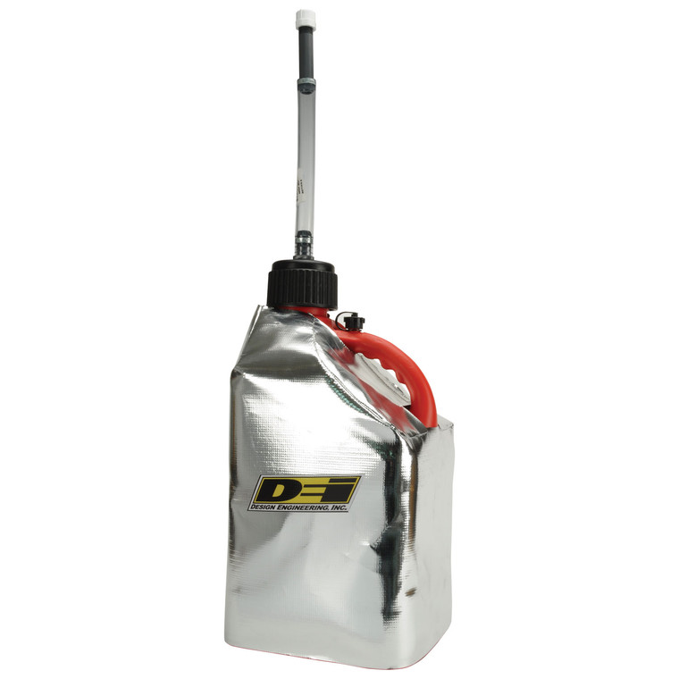 Reflective Fuel Can Cover - 5 Gallon Square Jug