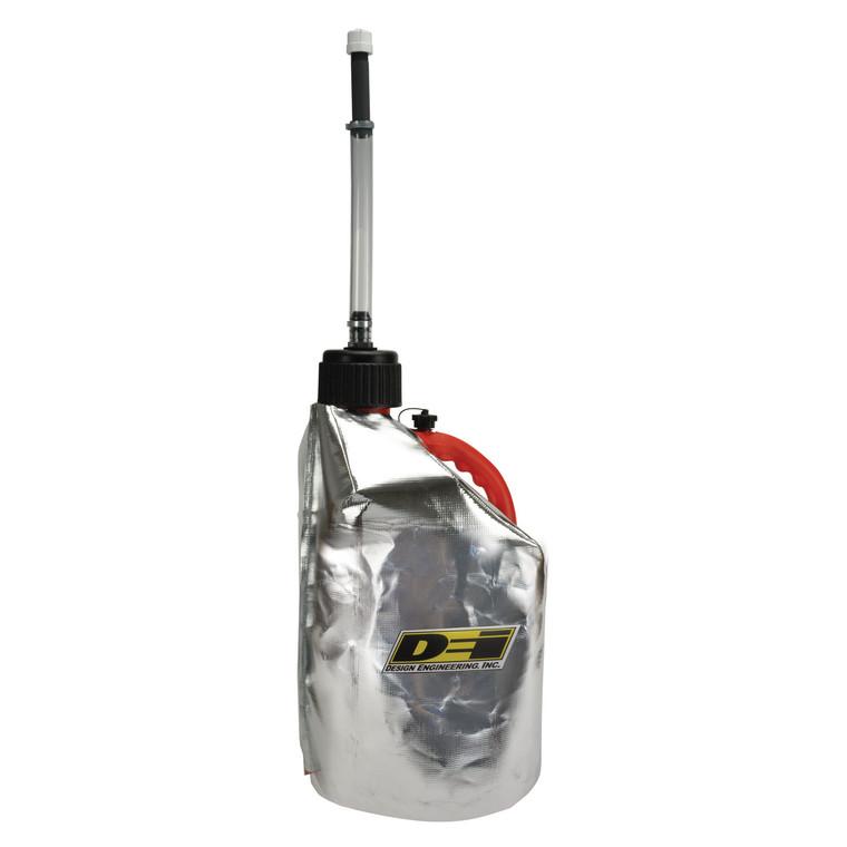 Reflective Fuel Can Cover - 5 Gallon Round Plastic Jug