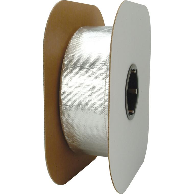 """Heat Sheath™ Aluminized Sleeving - 1.5"""" x 50'"""