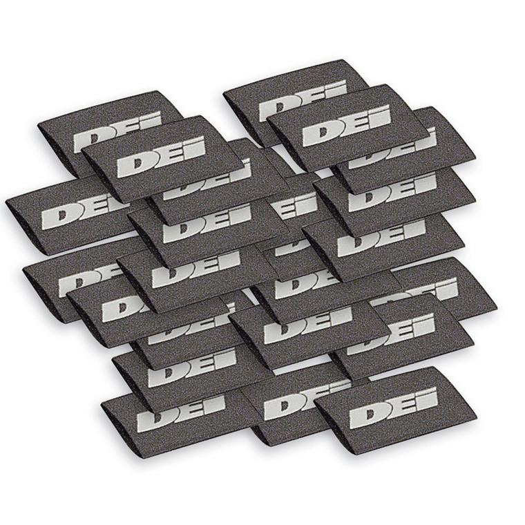 "Spark Plug Wire / Boot Shrink Tubes - 12mm x 1.5"" - Black"