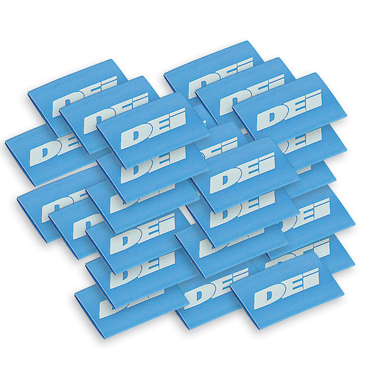 """Spark Plug Wire / Boot Shrink Tubes - 12mm x 1.5"""" - Blue"""