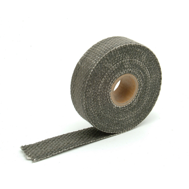 "Black Glass Fiber Exhaust Wrap - 1"" x 15'"