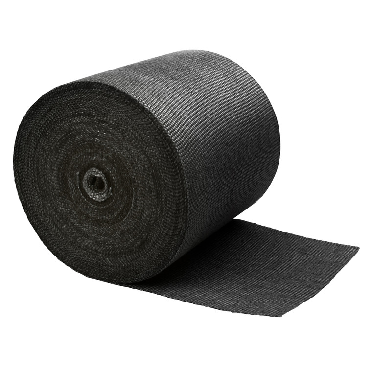 "Black Glass Fiber Exhaust Wrap - 6"" x 100'"