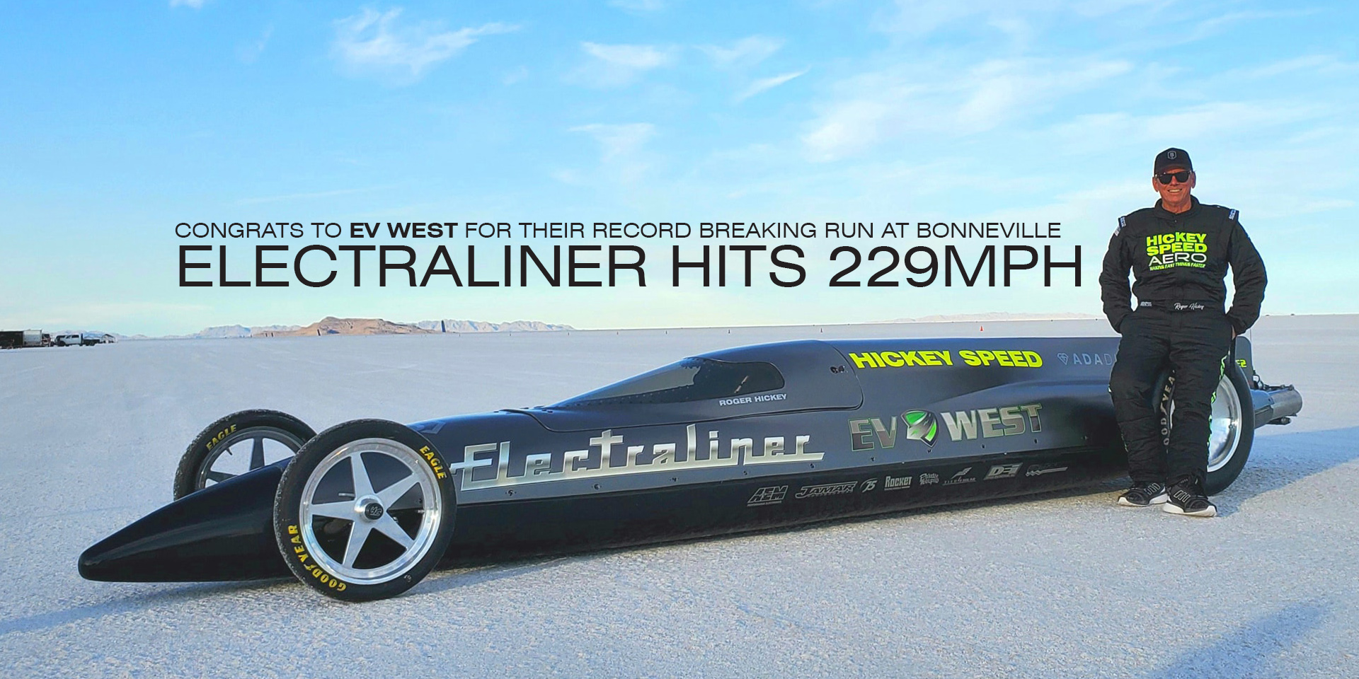 Electraliner hits 229mph
