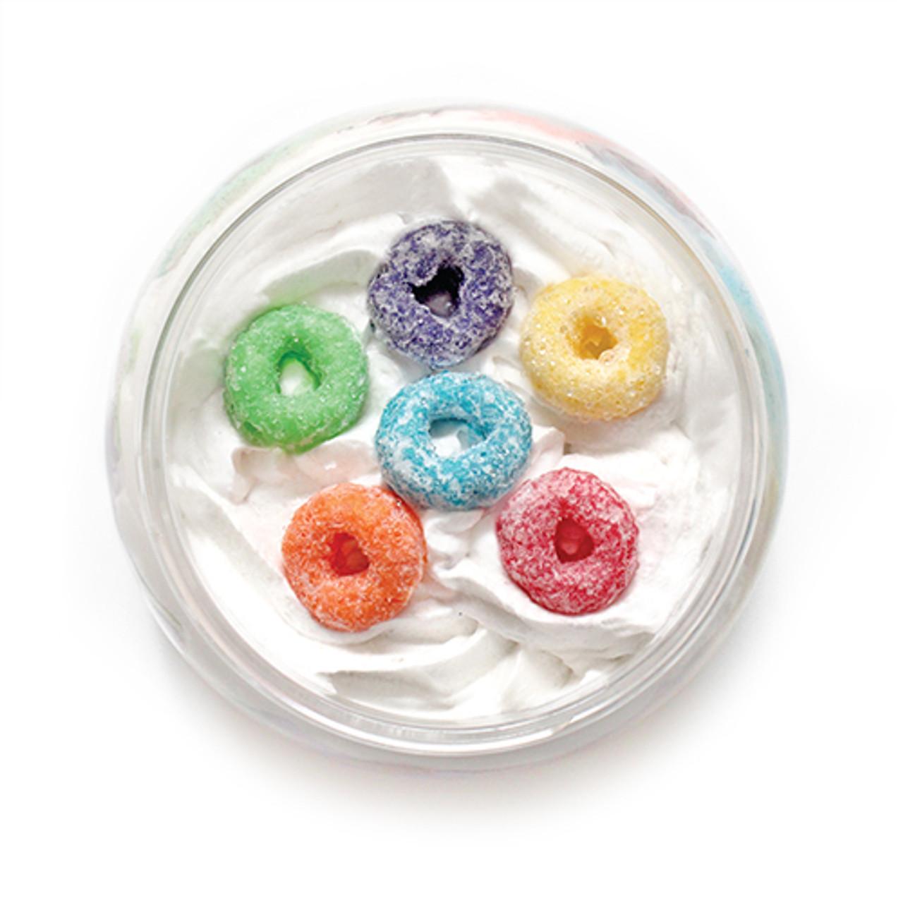 Fruity Sugar Soufflé