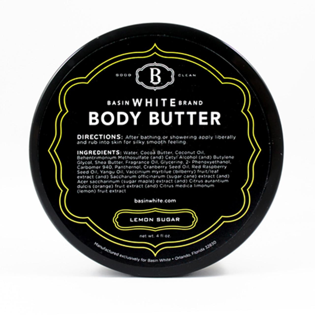 Lemon Sugar Body Butter (Basin White)