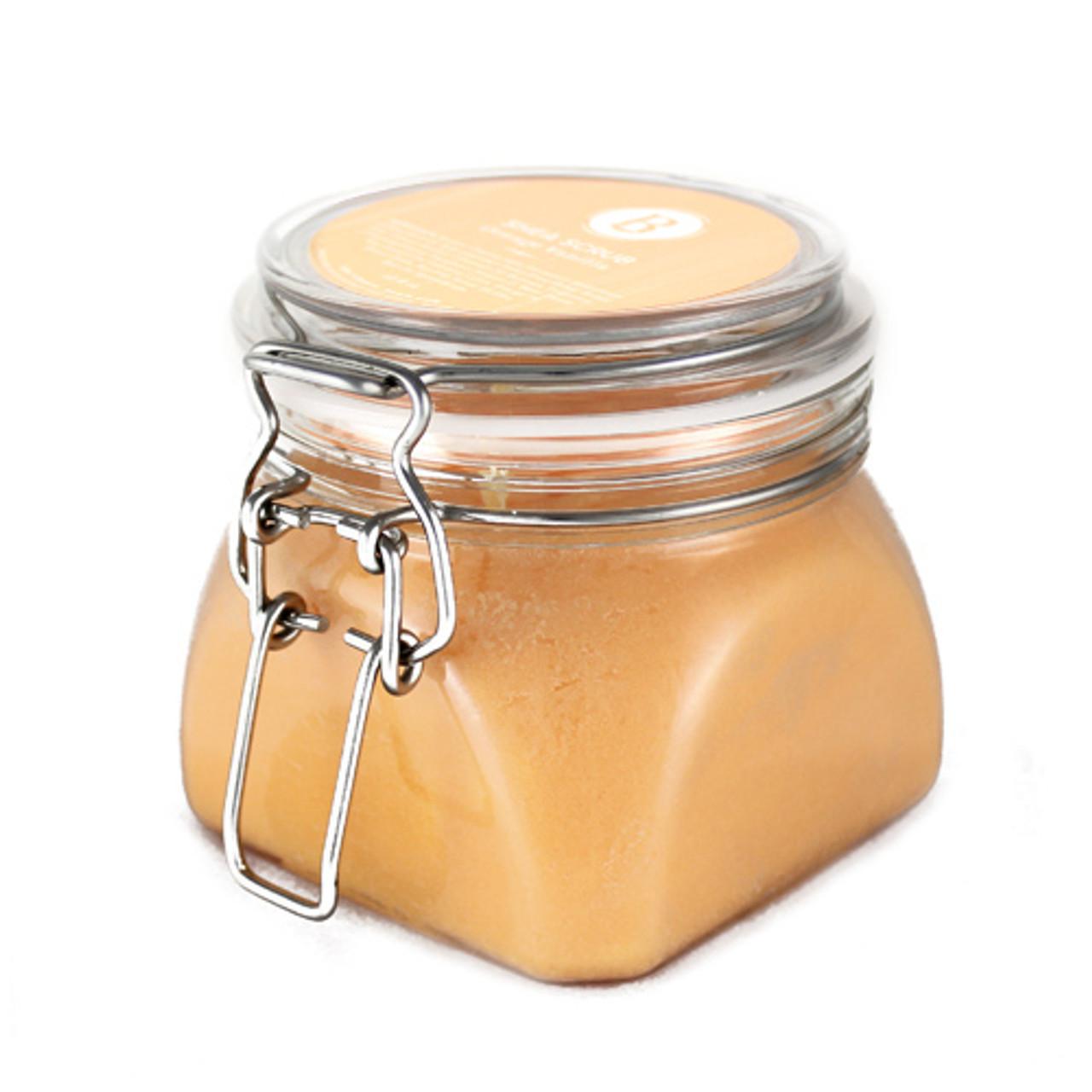 Orange Vanilla Shea Salt Scrub