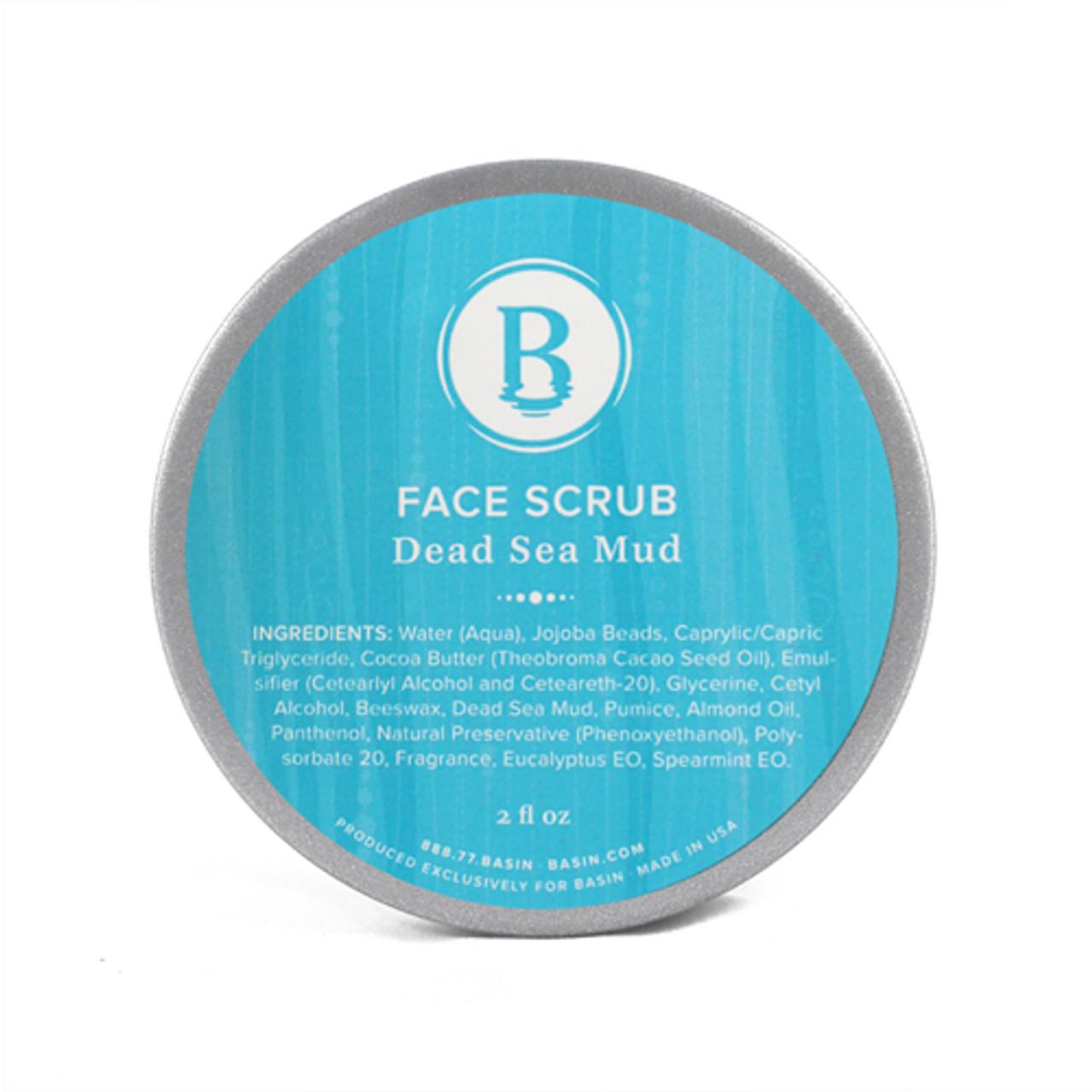 Dead Sea Mud Face Scrub