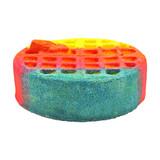 Rainbow Waffle Bath Bomb