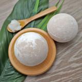 Coconut Oil Bath Bomb