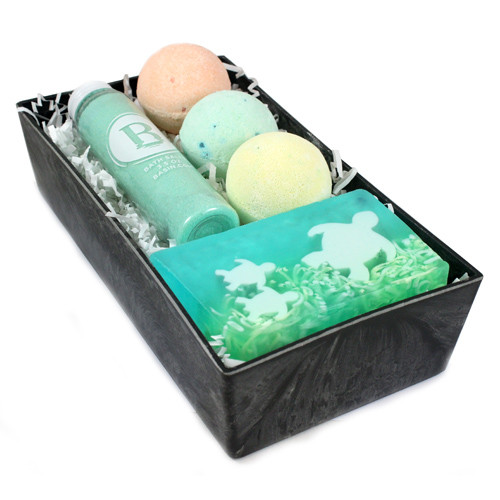Customize Your Own Bath Bomb Trio Basket