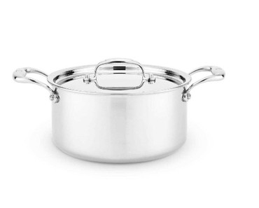 Heritage Steel 4 qt Sauce Pot with Lid