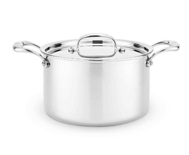 Heritage Steel 5 qt Sauce Pot with Lid