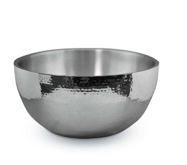4 Quart Hammered Steel Bowl