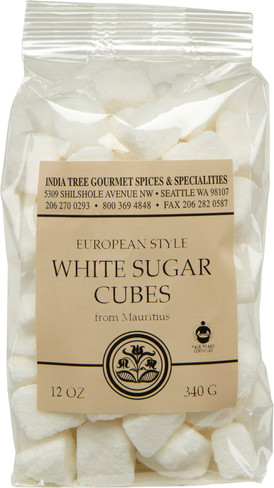 India Tree  European Style White Sugar Cubes