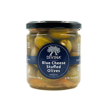 Divina Blue Cheese Stuffed Olives in Brine