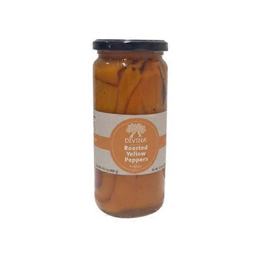 Divina Roasted Yellow Peppers