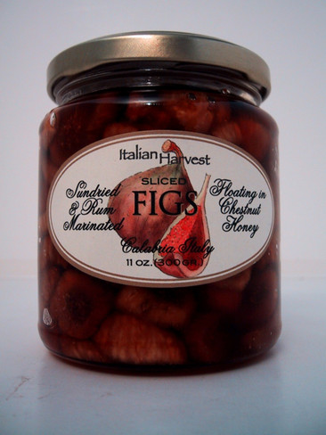 Sun-dried Figs in Rum and Chestnut Honey