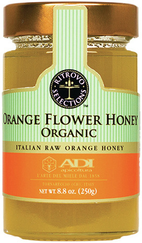 Organic Orange Flower Honey