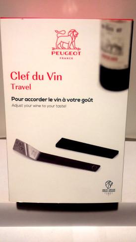 Peugeot Clef du Vin Wine Ageing Tool